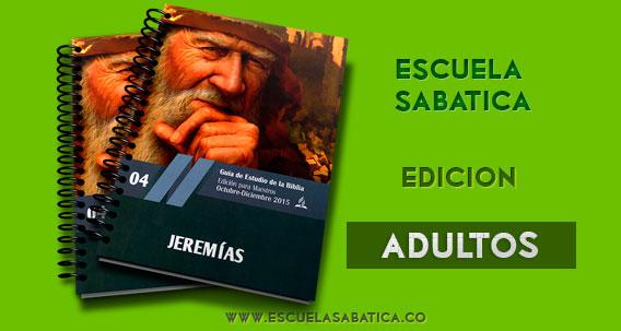 jeremias escuela sabatica 4° trimestre 2015