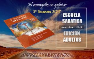 """Lección 7 Edicion Adultos: """"El camino a la fe""""  Para el 12 de agosto de 2017"""